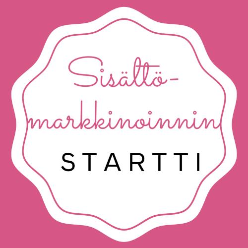 Sisältömarkkinointi Startti - Käynnistä tehokas markkinointi- ja myyntikone ja tee verkkokävijöistä maksavia asiakkaita.